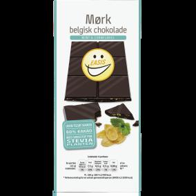 EASIS Mørk chokoladeplade med knas & mint 85g