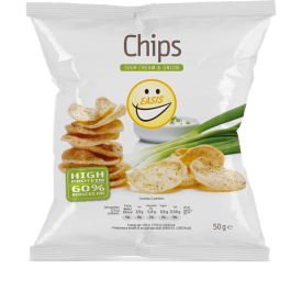 EASIS Chips Sour Cream – Onion 1 stk.
