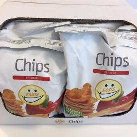 EASIS Chips Paprika 14×50 gr. (1 hel kasse)