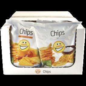 EASIS Chips Mix Salt & Nacho Cheese 14x50g