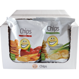 EASIS Chips Mix Sour Cream & Paprika 14x50g
