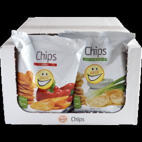 EASIS Chips Mix Sour Cream & Paprika 14x50g