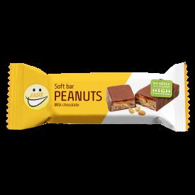 EASIS Soft bar Peanuts 24 stk.
