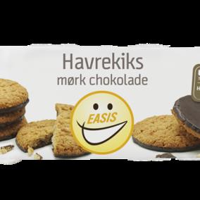 EASIS Havrekiks med mørk chokolade