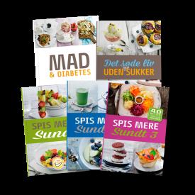Sampak – Opskriftsbøger