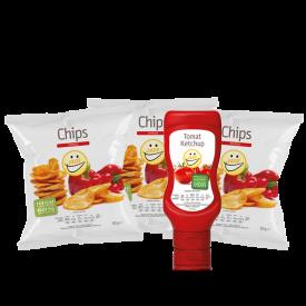 Sampak – Paprika & Ketchup