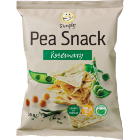 EASIS Simply Pea Snack Rosemary 50g.